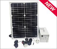10W-20W Solar Lighting System