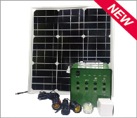 40-60W Solar Lighting System