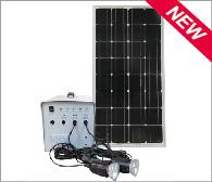80-100W Solar Lighting System