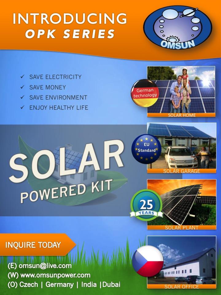 OMSUN Powered Kits